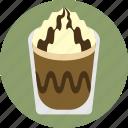 cafe, cafe frappe, coffee, espresso, hot chocolate, mocha, mochaccino icon