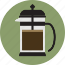 cafe, coffee, coffee maker, espresso, french press icon