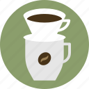 cafe, coffee, coffee maker, drip coffee, espresso, pour over coffee icon
