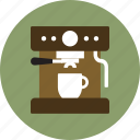 cafe, coffee, coffee machine, coffee maker, espresso, espresso machine, espresso maker icon