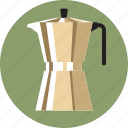 cafe, coffee, coffee maker, espresso, espresso maker, pod, stovetop icon