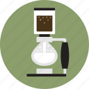 cafe, coffee, coffee maker, espresso, slphon pod coffee maker, vac pot, vacuum coffee maeker icon