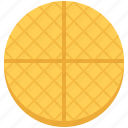 cafe, food, snack, sweet, wafer icon