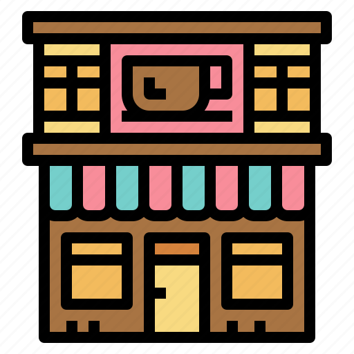 Building, cafe, coffee, restaurant icon - Download on Iconfinder