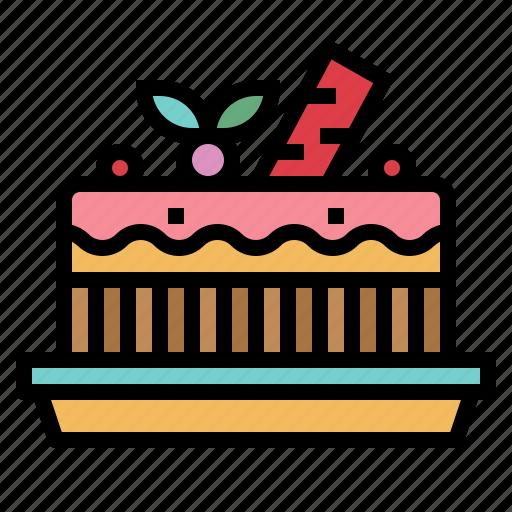 bakery, cake, dessert, food icon
