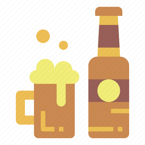 alcohol, beer, drink, glass icon
