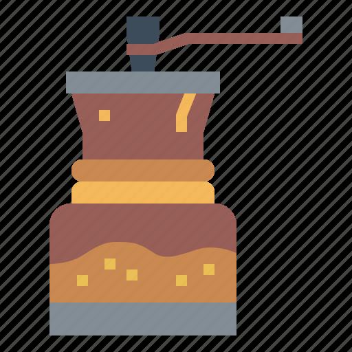 Coffee, food, grinder, kitchenware icon - Download on Iconfinder