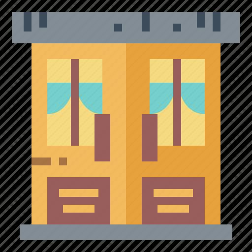 Buildings, cafe, door, furniture icon - Download on Iconfinder