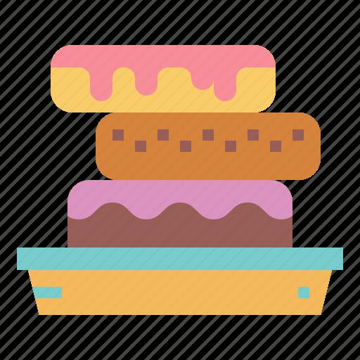 Dessert, doughnut, food, sugar icon - Download on Iconfinder