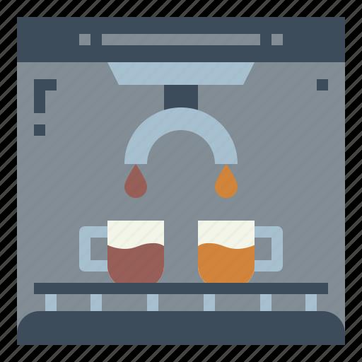 Coffee, drink, espresso, hot, machine icon - Download on Iconfinder