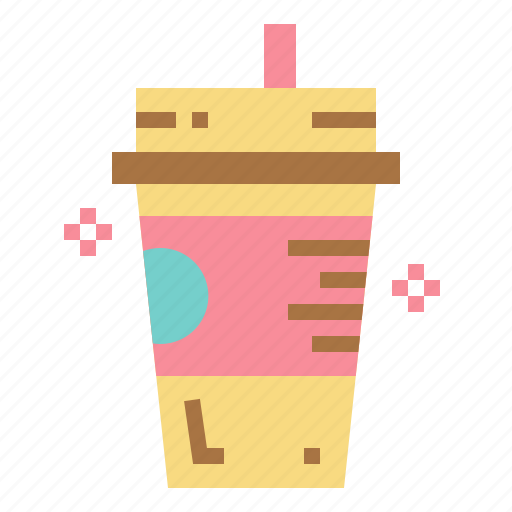 Coffee, cold, drink, food, iced icon - Download on Iconfinder