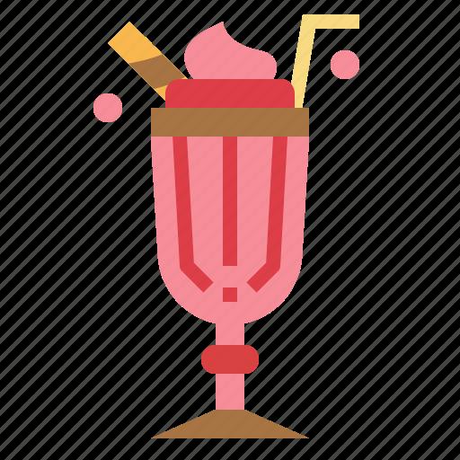 Dessert, drink, ice, milkshake icon - Download on Iconfinder