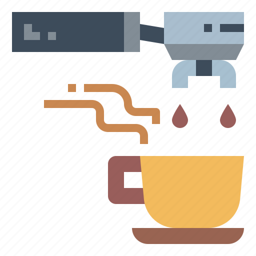 Coffee, espresso, machine, portafilter icon - Download on Iconfinder
