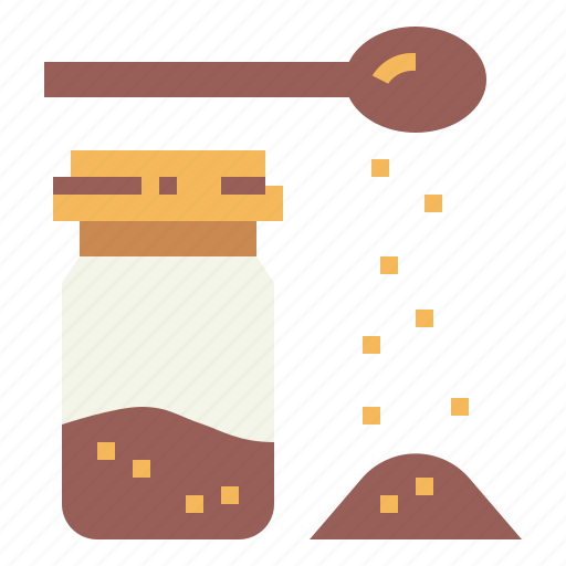 food, jar, sugar, sweet icon