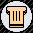 cafe, food, lunch, restaurant, sandwich, toast icon