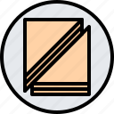 cafe, food, lunch, plate, restaurant, sandwich icon