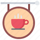 cafe, food, lunch, restaurant, sign, signboard