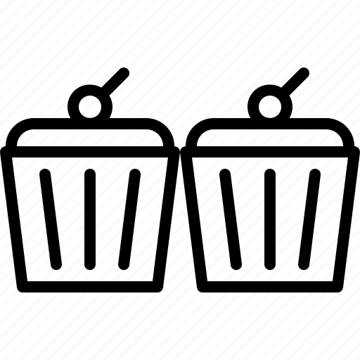 Cafe, cupcake, food, lunch, muffin, restaurant icon - Download on Iconfinder
