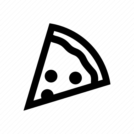 pepperoni, pizza, pizza slice, snack icon