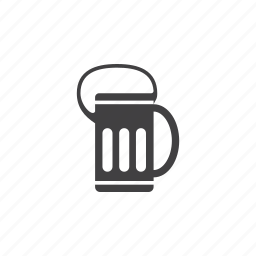 alcohol, bear, mud icon