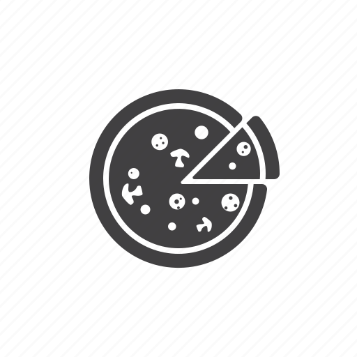 fast, food, pizza, slice icon