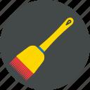 brush, cake brush, cook, kitchen icon