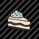 cake, chocolat, cream, cupcake, pastry icon