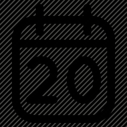 Calendar, date, deadline, event, plan, schedule icon - Download on Iconfinder