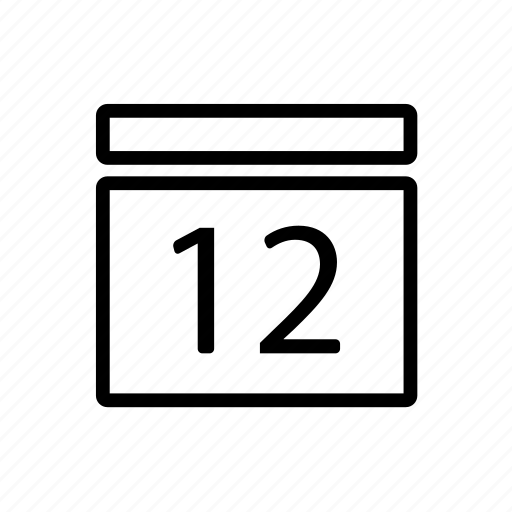 calendar, month, schedule, time icon icon