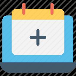 calendar, interface, organization icon
