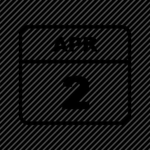 apr, calendar, schedule icon