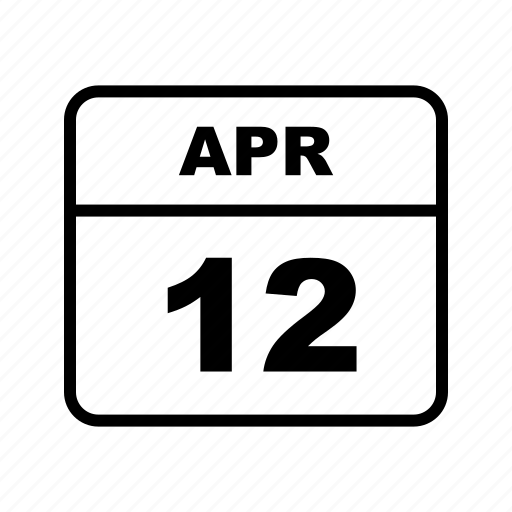 apr, calendar, month, schedule icon