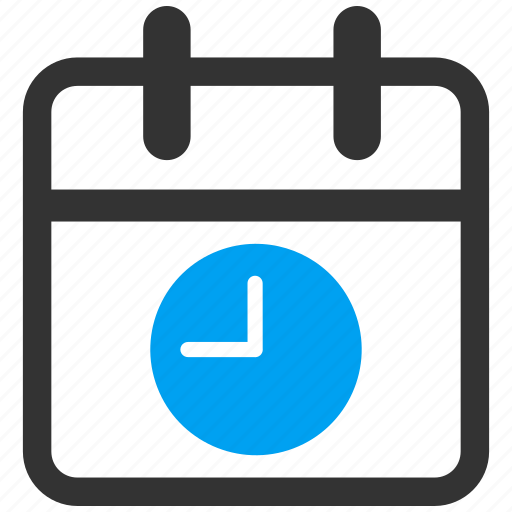 appointment, calendar, clock, date and time, datetime, plan, schedule icon
