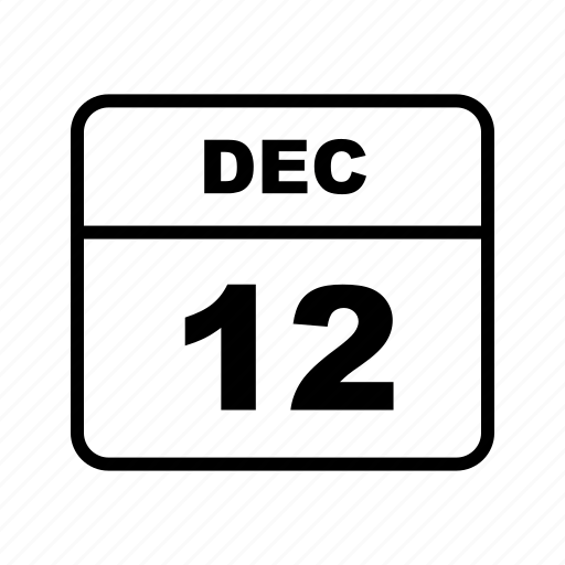 calendar, dec, schedule icon