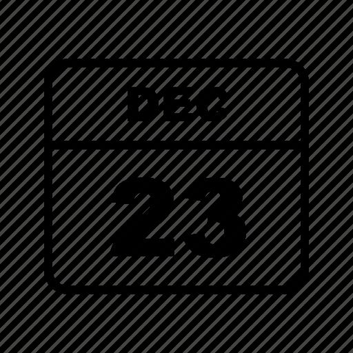 calendar, dec, schedule icon