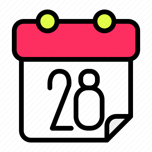 calendar, date, month, time icon