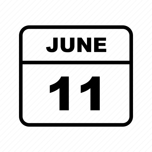 calendar, june, month, schedule icon