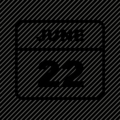 calendar, june, month, schedule icon