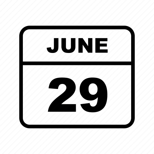 calendar, june, schedule icon