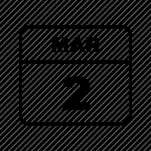 calendar, mar, month, schedule icon