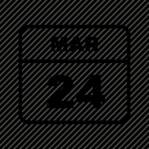 calendar, mar, schedule icon