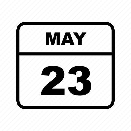 calendar, may, month, schedule icon