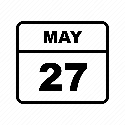 calendar, may, schedule icon
