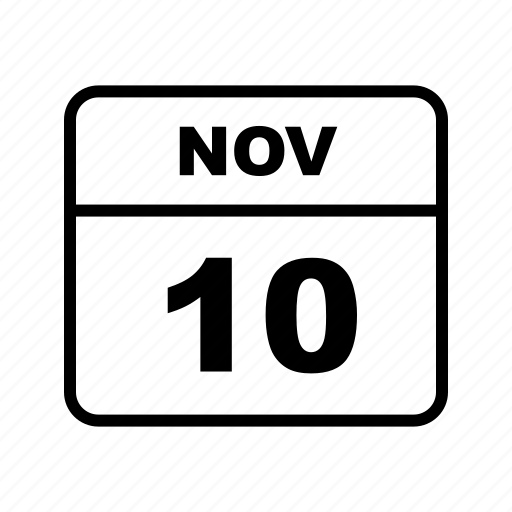 calendar, nov, schedule icon