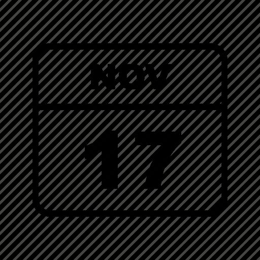 calendar, month, nov, schedule icon