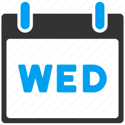 appointment, calendar page, date, day, leaf, schedule, wednesday icon