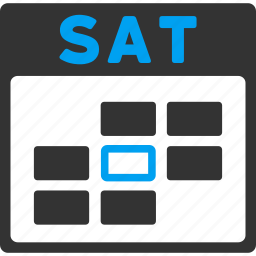 calendar, date, day, friday, saturday, sunday, week icon