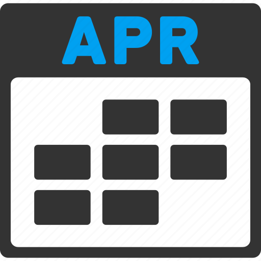 appointment, april, calendar, grid, month, plan, schedule icon