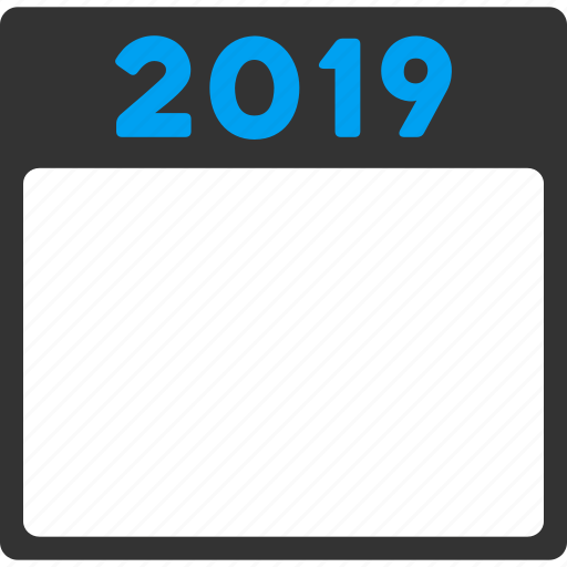 2019, appointment, calendar page, diary, poster leaf, schedule, year calendar icon