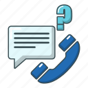 call, calls, cartoon, object, phone, support, telephone icon